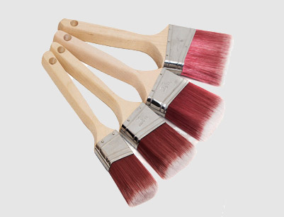Wood Flat Sash Paint Brush