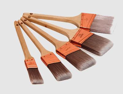 Rattail Paint Brush