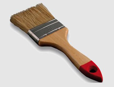 126 Bristle Flat Paint Brush