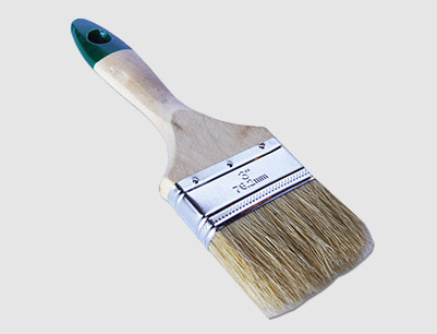 Wood Handle Paint Brush