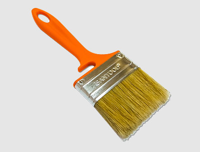 Plastic Handle Bristle Paint Brush