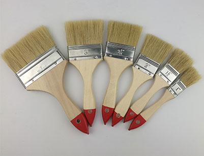 126 Bristle Flat Paint Brush