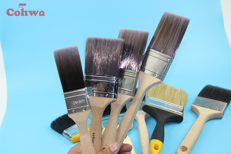 bristle paint brushes